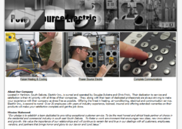 ElectAir, Inc. Landing Page