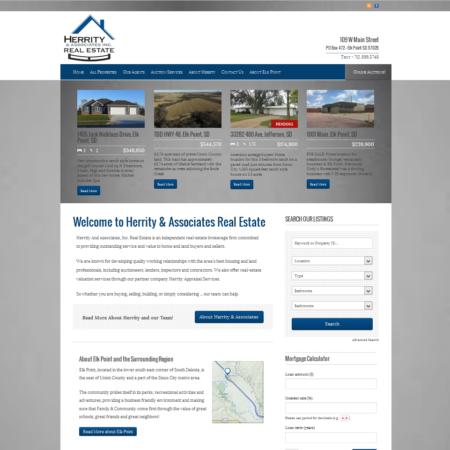 Herrity Real Estate Website