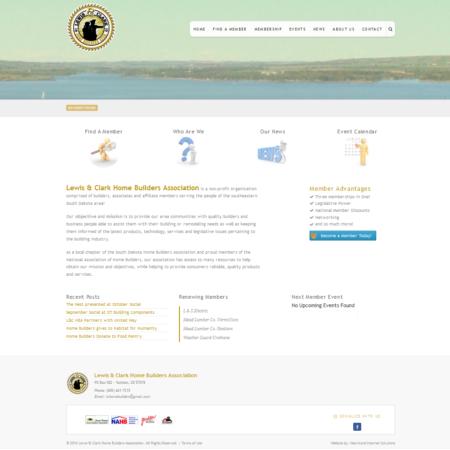 Lewis & Clark Home Builders Association Website