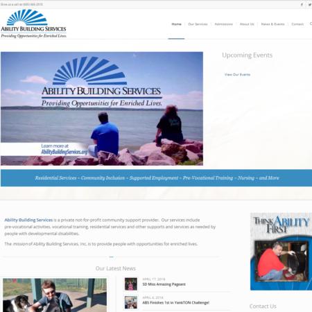 Ability Building Services Website