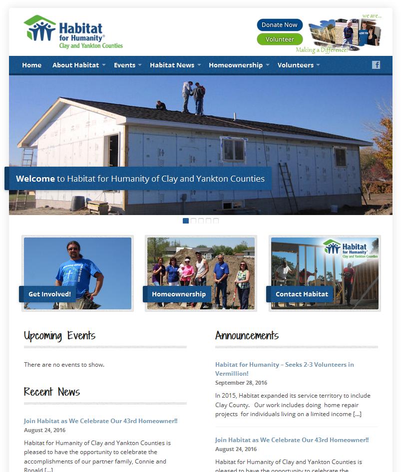 Habitat for Humanity Website