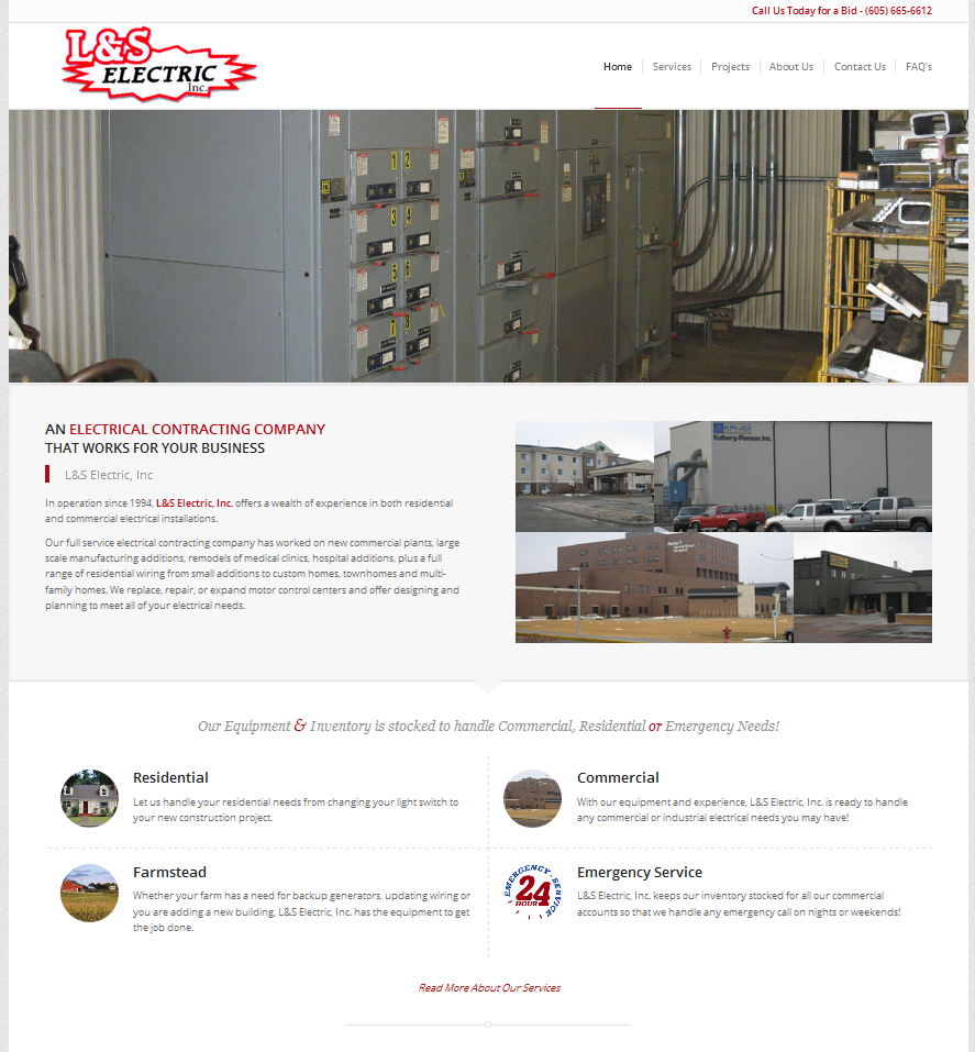 L&S Electric Website
