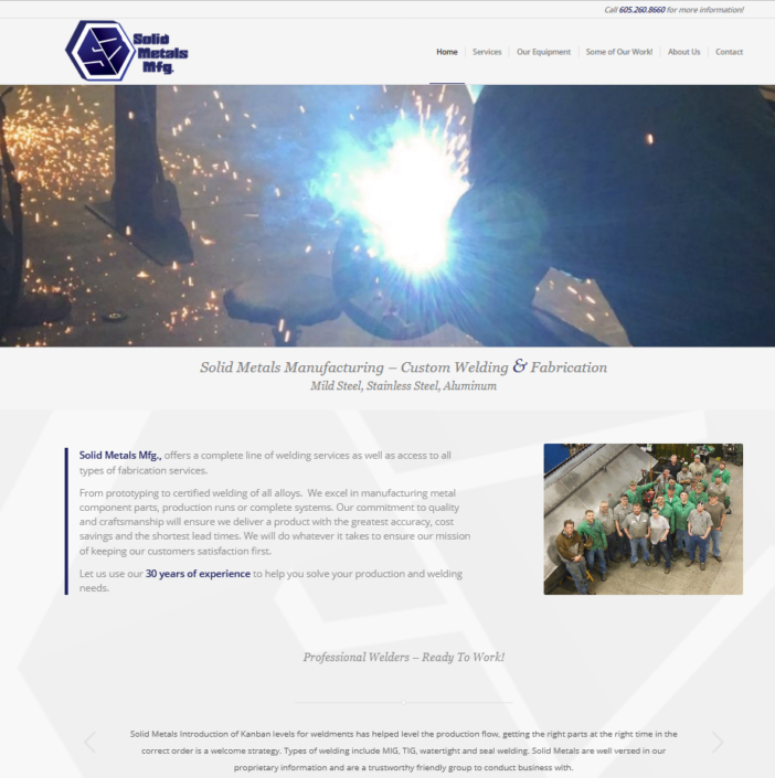 Solid Metals Manufacturing